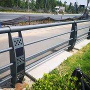 太阳能灯光栏杆1