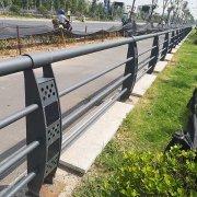 太阳能灯光栏杆3